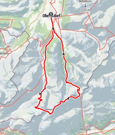 Karte / Heilbronner Weg