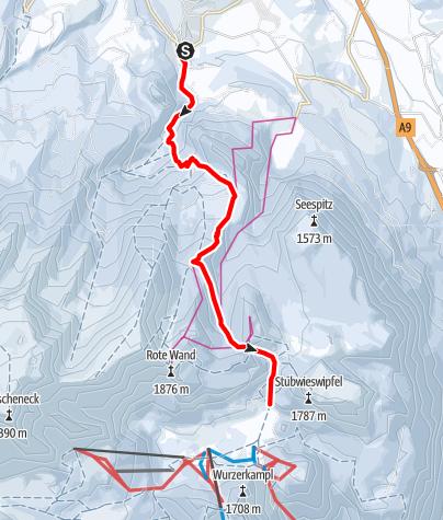 Karte / Von Roßleithen zur Wurzeralm