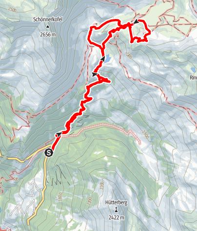 Karte / Bergwerk Schneeberg