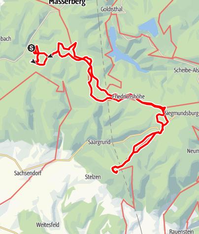 Karte / Fehrenbach - Bleßberg
