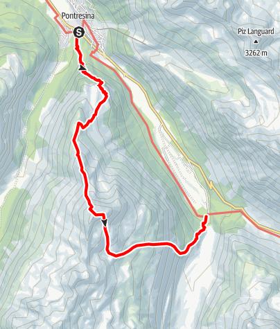 Karte / Piz Chalchagn