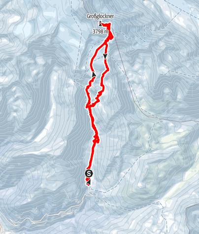 Karte / Großglockner