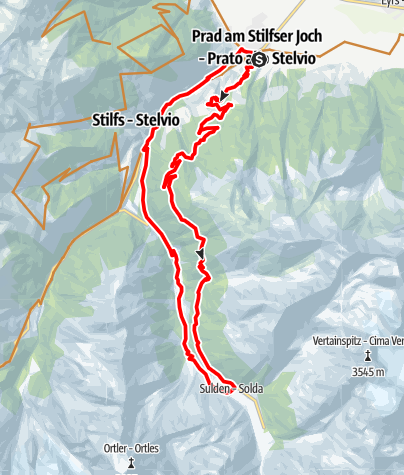 Karte / 306_Prad-Vallneiralm-Sulden-Prad