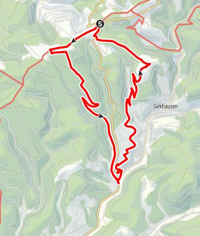 Karte / SGV-Oberkirchen 1.Mai Rund-Tour