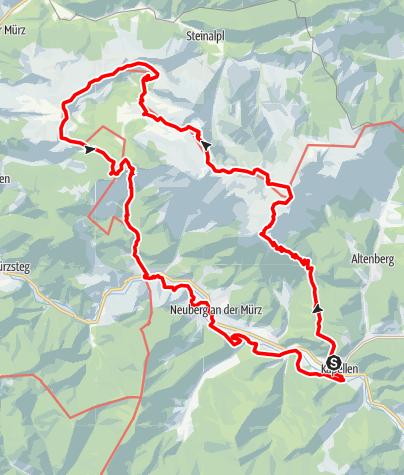 Karte / Schneealpenrunde