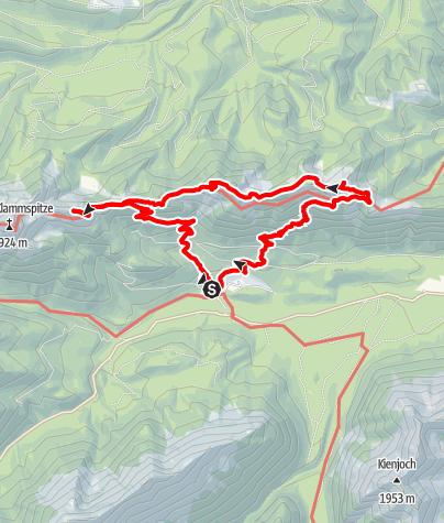 Karte / Durch den Linderwald zum Pürschling