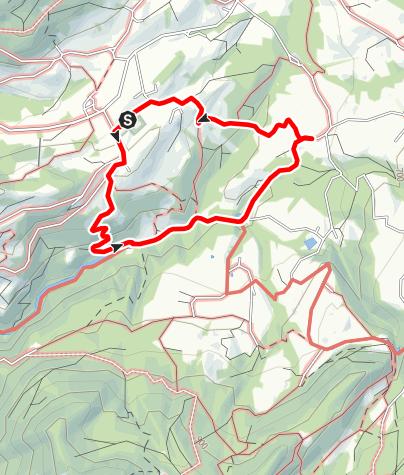 Karte / Von Haus durch das Mühltal nach Holzmann (Rundweg 60)