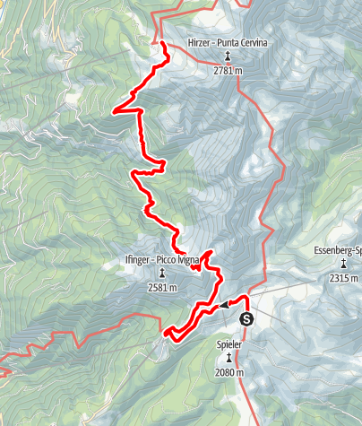 Karte / E5v-Meran2000-HirzerHütte