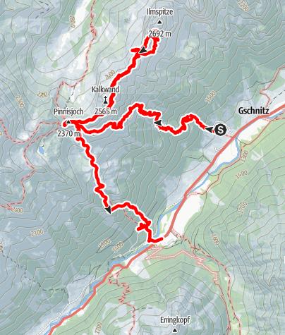 Map / Ilmspitze