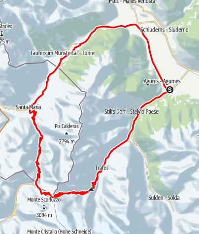 Karte / Stilfserjoch