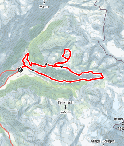 Karte / Taufers_Arthur-Hartdegen-Hohenweg