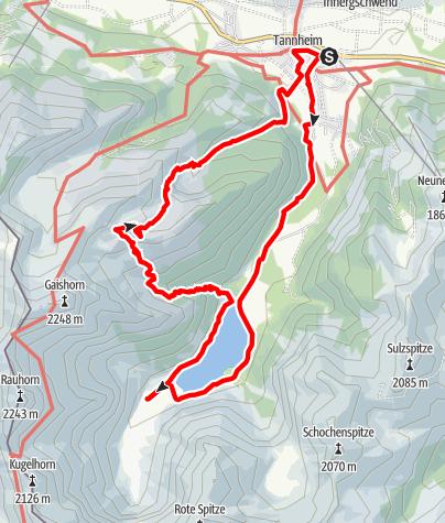 Mappa / Vilsalpsee und Roßalpe
