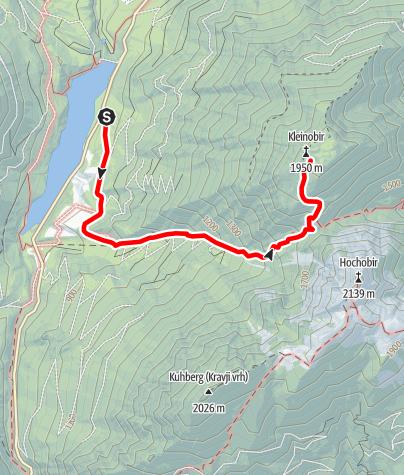 Karte / Freibach - Kleinobir