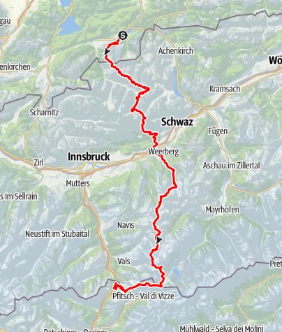 Map / Alpenüberquerung