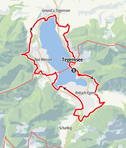 Mappa / Panorama Wanderweg