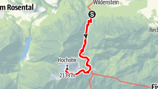 Karte / Wildenstein - Hochobir 2139m