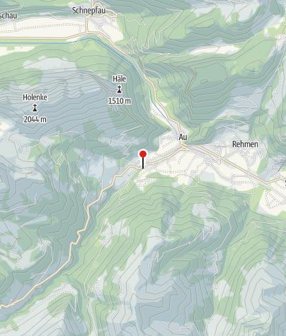 Map / Hütte Au Sektion Überlingen