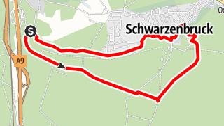 Karte / Ludwigskanal und Schwarzachklamm