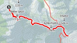 Karte / Freiungen-Höhenweg