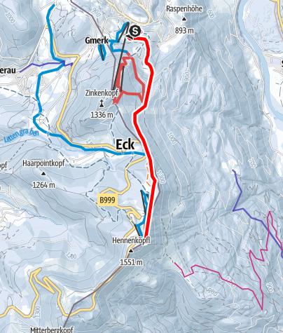 Karte / Roßfeld