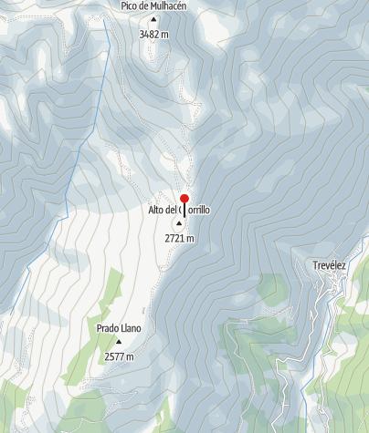 Karte / Alto del Chorillo