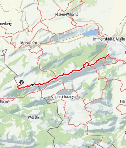 Map / Nagelfluhkette Gesamt