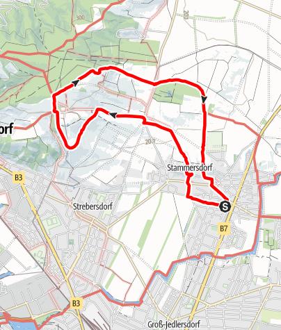 Karte / Wiener Stadtwanderweg 5