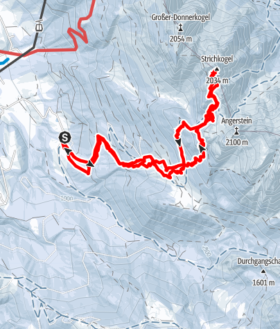Karte / Strichkogel 2034m