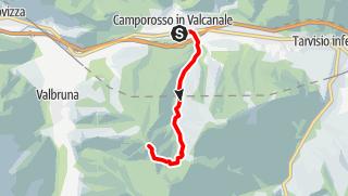 Karte / Hike & Fly Monte Lussari