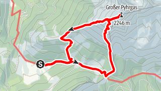 Karte / Großer Pyhrgas
