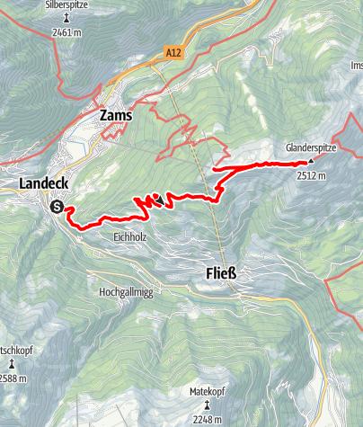 Karte / Erzherzog-Eugen-Weg