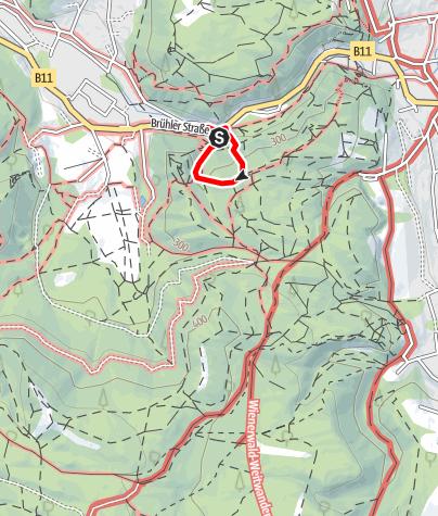 Karte / Mödlinger Klettersteig (B/C)