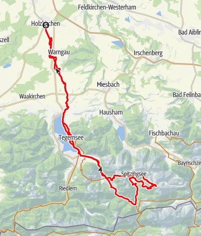 Karte / Rotwandrunde