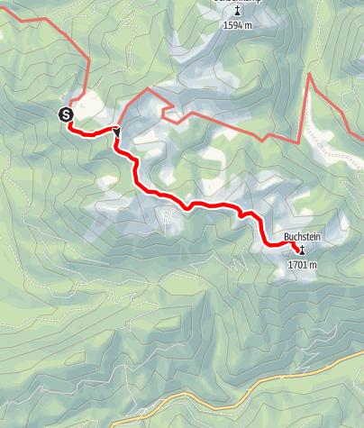 Map / Lenggrieser Hütte zur Tegernseer Hütte