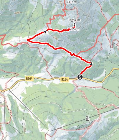 Karte / Taghaube