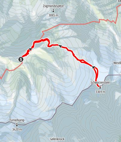 Karte / Schwarzenstein