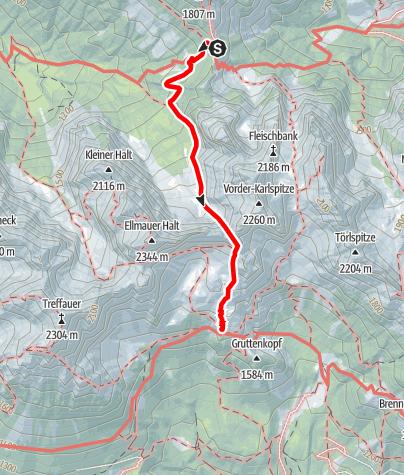 Karte / Wilder Kaiser Tag 3