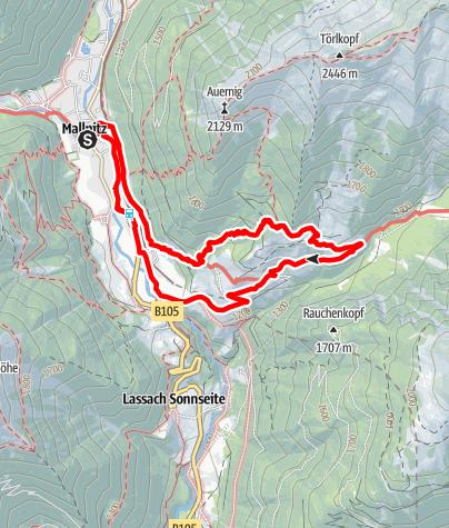 Karte / Wolligerhütte