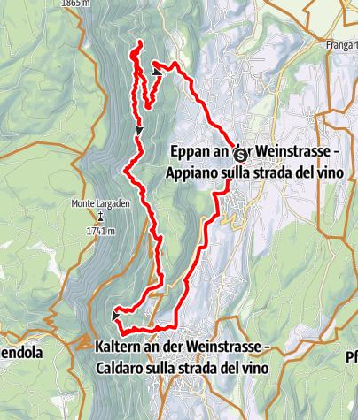Karte / Eppaner Höhenweg