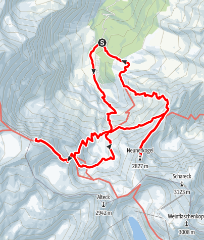 Karte / Hoher Sonnblick