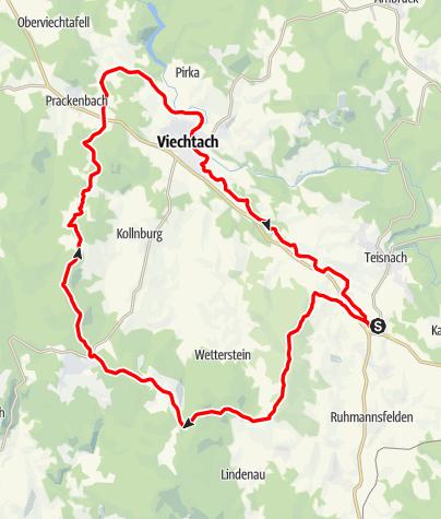 Karte / Fichtental über St. Englmar