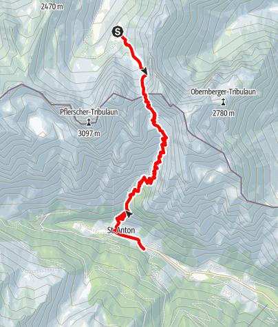 Karte / Transalp - Tag 05
