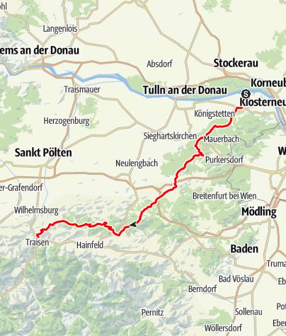 Karte / Greifenstein - Traisen