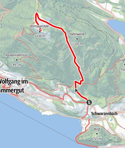 Karte / Vormauerstein