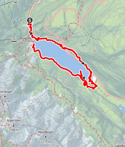 Karte / Gosausee Rundweg