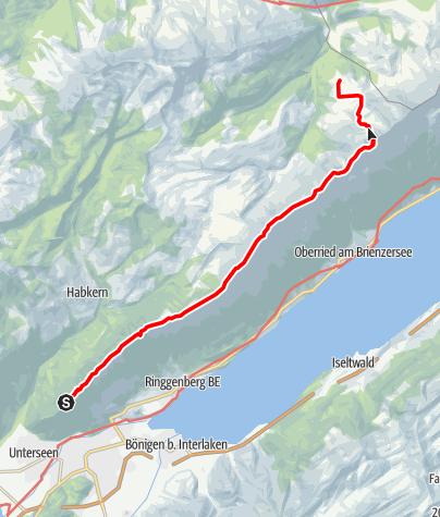 Karte / Harder - Augstmathorn - Algäuli - Kemmeriboden