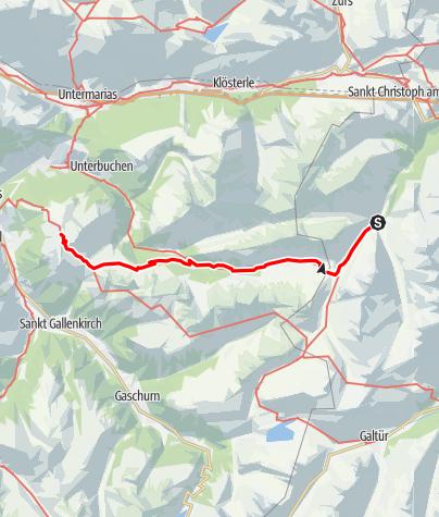 Karte / Von der Konstanzer zur Wormserhütte