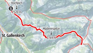 Mappa / Der Wormser-Höhenweg