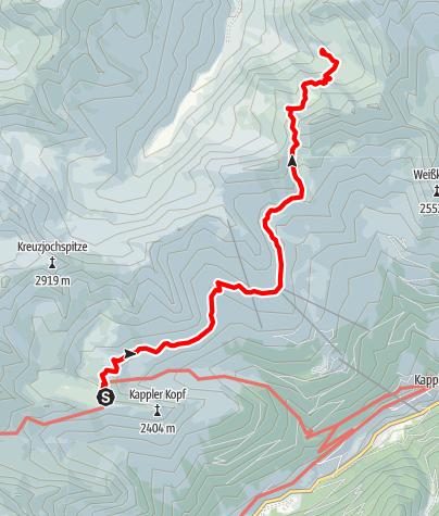 Karte / Kieler-Rifflerweg
