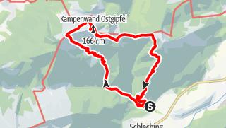 Karte / Die Kampenwand